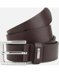 Calvin Klein - Mino Mino Leather Belt - Lyst