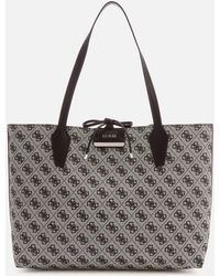 Guess - Bobbi Logo Inside Out Tote Bag - Lyst