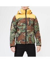 Superdry - Expedition Camo Coat - Lyst
