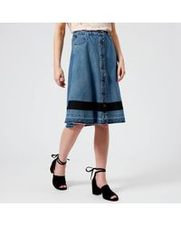Maison Scotch - A Line Skirt - Lyst