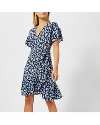MICHAEL Michael Kors - Mini Wrap Dress - Lyst