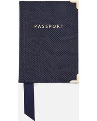 Aspinal - Passport Cover - Lyst