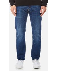 Edwin - Ed-55 Regular Tapered Rainbow Selvedge Jeans - Lyst