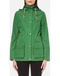 Barbour - Lowmoore Waterproof Jacket - Lyst