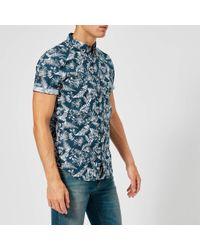 Superdry - Shoreditch Short Sleeve Button Down Shirt - Lyst