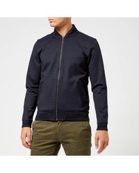 Ted Baker - Ruubes Jersey Bomber Jacket - Lyst