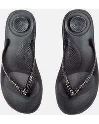 1f4aa885d Fitflop - Iquishion Sparkle Flip Flops - Lyst