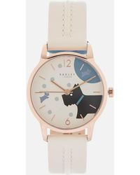 Radley - Over The Moon Leather Watch - Lyst