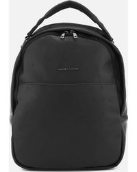 Armani Exchange - All Over Pattern Backpack - Lyst