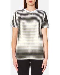 SELECTED - My Perfect Short Sleeve T-shirt - Lyst