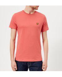 Lyle & Scott - Crew Neck T-shirt - Lyst
