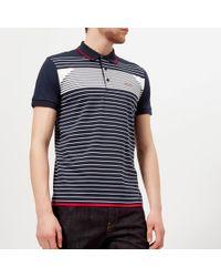 BOSS Green - Paddy 5 Striped Polo Shirt - Lyst