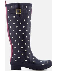 Joules - Welly Print Wellies - Lyst