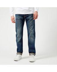 Edwin - Ed-80 Slim Tapered Rainbow Selvedge Jeans - Lyst