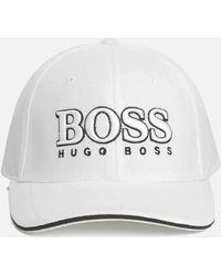 0c7a980061d173 Lyst - BOSS By Hugo Boss Baseball Logo Cap Black in Black for Men