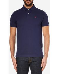 Hackett - Tailored Logo Polo Shirt - Lyst