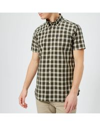 Barbour - Cadman Short Sleeve Shirt - Lyst