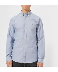 Tommy Hilfiger - Engineered Oxford Long Sleeve Shirt - Lyst