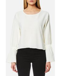 House Of Sunny - Classic Open El Backless Top - Lyst