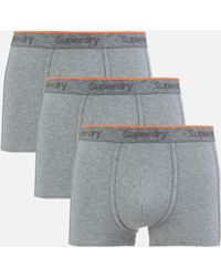 Superdry - Orange Label Triple Pack Boxers - Lyst