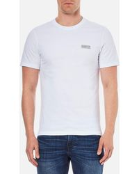 Barbour | Men's Small Logo Tshirt | Lyst