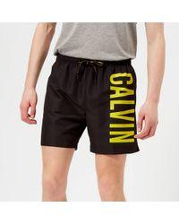 CALVIN KLEIN 205W39NYC - Logo Swim Shorts - Lyst