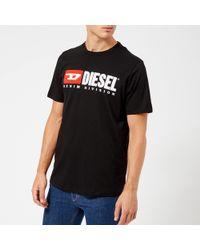 DIESEL - Just Division T-shirt - Lyst
