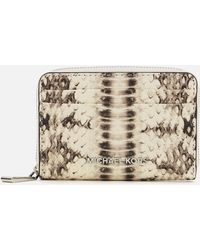 MICHAEL Michael Kors - Zip Around Card Case - Lyst