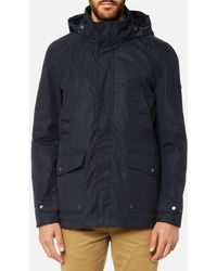 Joules - Waterproof Field Coat With Quilted Lining - Lyst