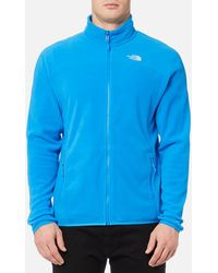 The North Face - 100 Glacier Full Zip Fleece Jumper - Lyst