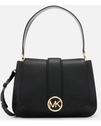 MICHAEL Michael Kors - Women's Lillie Medium Flap Messenger Bag - Lyst