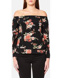 MINKPINK - Wallflower Off Shoulder Top - Lyst