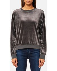 Juicy Couture - Track Light Weight Velour Pullover - Lyst