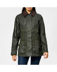 Barbour - Women's Beadnell Wax Jacket - Lyst