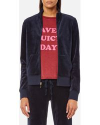 Juicy Couture - Track Velour Fairfax Jacket - Lyst
