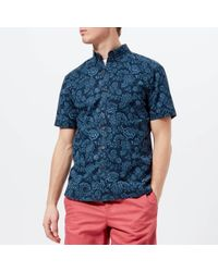 Joules - Lloyd Short Sleeve Shirt - Lyst