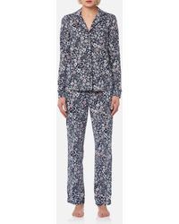 Joules - Astrid Printed Jersey Pyjama Set - Lyst