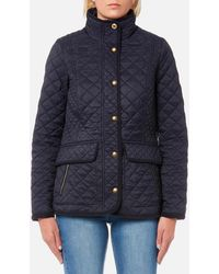 Joules - Newdale Quilted Coat - Lyst