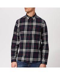 Jack Wills - Langworth Flannel Check Shirt - Lyst