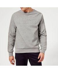 Armani Exchange - Quilted Logo Sweatshirt - Lyst