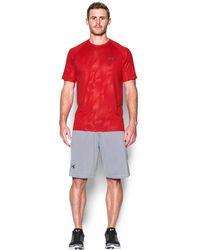 Under Armour - Men's Ua Techtm Patterned T-shirt - Lyst