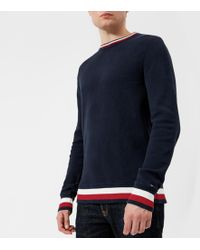 Tommy Hilfiger - Chunky Knitted Jumper - Lyst