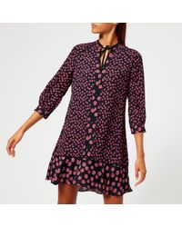 Whistles - Lenno Print Shirt Dress - Lyst