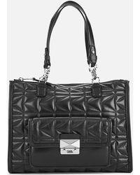 Karl Lagerfeld   Women's K/kuilted Tote Bag   Lyst