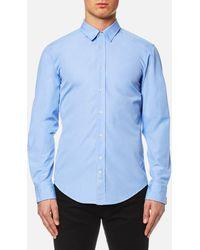 BOSS Orange - Cliffe Long Sleeve Shirt - Lyst
