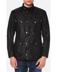 Barbour - Men's Duke Wax Jacket - Lyst