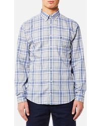 Tommy Hilfiger - Reza Check Long Sleeve Shirt - Lyst