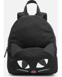 Lulu Guinness - Women's Medium Kooky Cat Backpack - Lyst