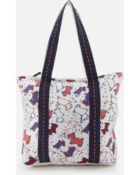 Radley - Speckle Dog Large Ziptop Tote Bag - Lyst