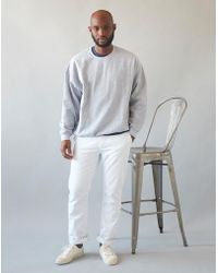 The Idle Man - Straight Leg Chino White - Lyst